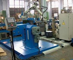 汽车油箱焊接机器人工作站