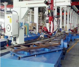电梯桁架智能焊接机器人系统