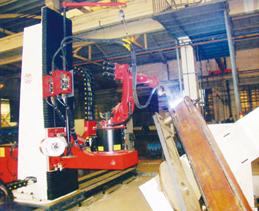 煤矿机械机器人焊接系统