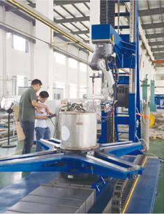 不锈钢TIG填丝焊接机器人系统