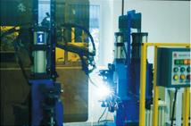 轴类件机器人焊接系统