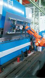 机器人自动化折弯生产线
