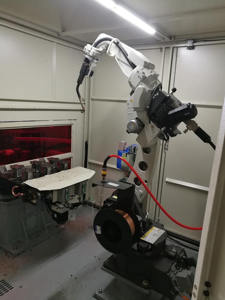 松下机器人焊接系统