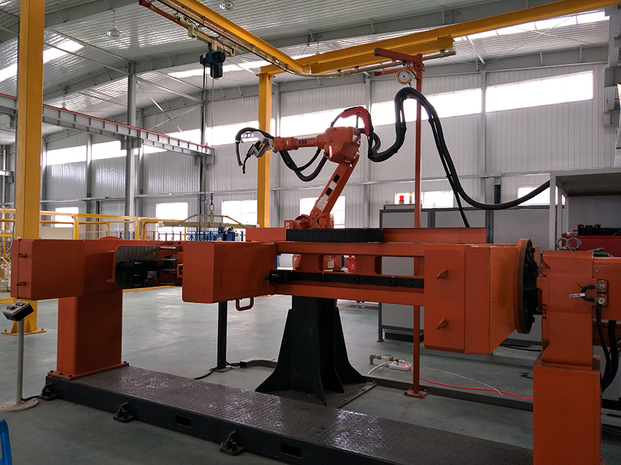 不锈钢充气柜机器人冷弧焊工作站