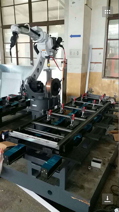 开关柜框架机器人焊接系统