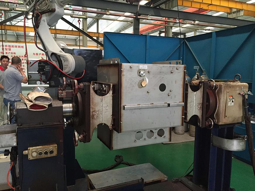 开关柜机器人焊接系统