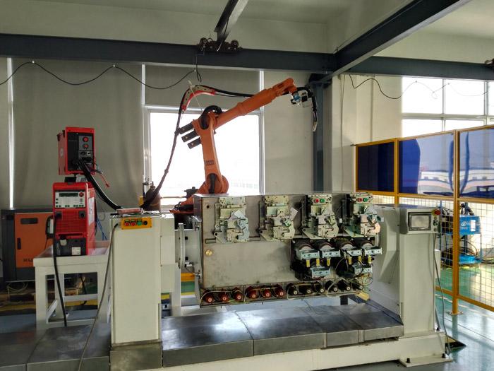 环网柜机器人焊接系统