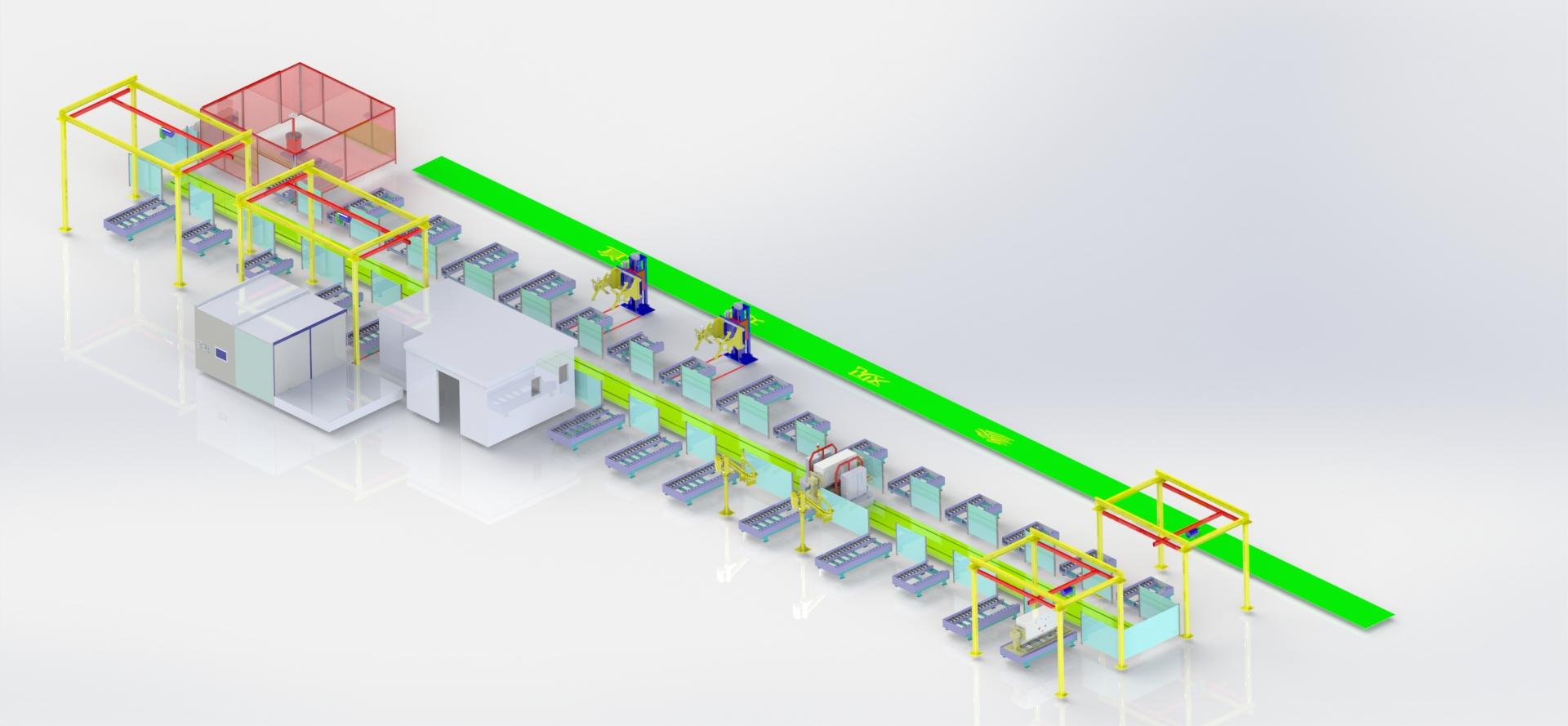 电力环网柜&GIS智能生产线